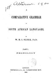 A Comparative Grammar of South African Languages: Volumes 1-2