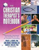 The Christian Therapist's Notebook