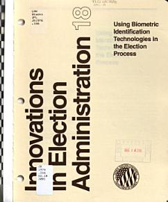 Innovations in Election Administration PDF