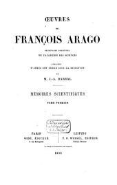 Oeuvres de François Arago: Volume14