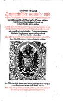 der Postill Euangelischer wahrheit  vnd rechter Catholischer Lehr  vber die Episteln vnd Euangelien  so     in der Heiligen Kyrchen gelesen werden PDF