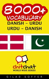 8000+ Danish - Urdu Urdu - Danish Vocabulary
