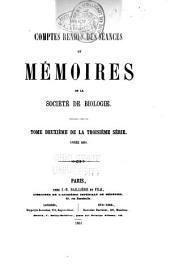 Comptes rendus des séances et mémoires de la Société de biologie: Volume12