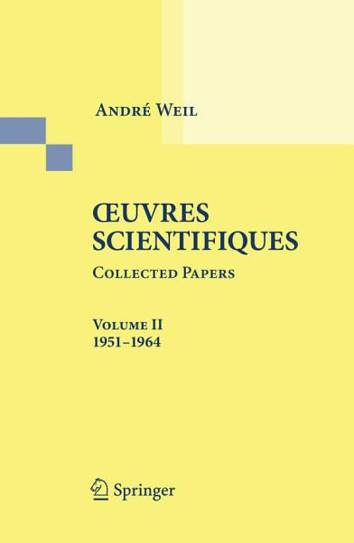 Download Oeuvres Scientifiques   Collected Papers Book