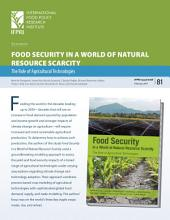 SYNOPSIS of FOOD SECURITY IN A WORLD OF NATURAL RESOURCE SCARCITY: The Role of Agricultural Technologies