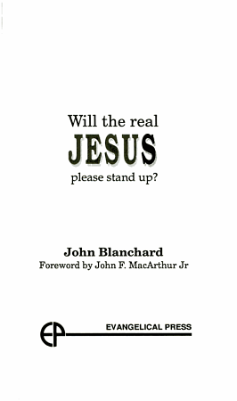 Will the Real Jesus Please Stand Up  PDF