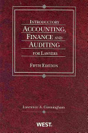 Introductory Accounting  Finance and Auditing for Lawyers PDF