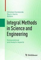Integral Methods in Science and Engineering PDF