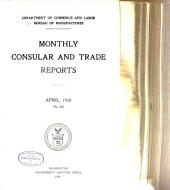 Monthly Consular and Trade Reports: Issues 355-357