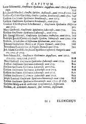 Thomae Sydenham ... Opera medica ...: tomus primus [-secundus] : cum elenchis rerum & indicibus necessariis, Volume 1