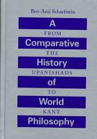 A Comparative History of World Philosophy PDF