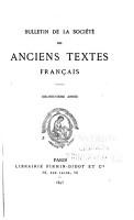 Bulletin de la Soci  t   des anciens textes fran  ais PDF