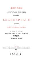 Fairy Tales  Legends and Romances     1  On Pigmies  2  On Fairies by Joseph Ritson PDF