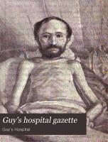 Guy s Hospital Gazette PDF