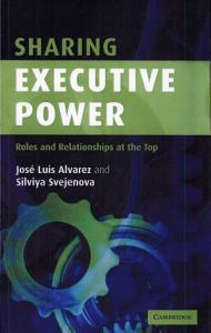Sharing Executive Power Book