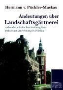 Andeutungen   ber Landschaftsg  rtnerei PDF
