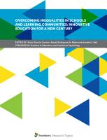 Overcoming Inequalities in Schools and Learning Communities  Innovative Education for a New Century PDF