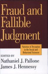 Fraud And Fallible Judgement Book PDF