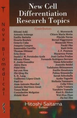 New Cell Differentiation Research Topics PDF