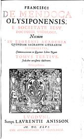 Commentarii in IV libros regum: Volume 3