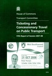Ticketing And Concessionary Travel On Public Transport Book PDF