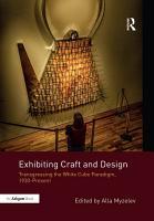 Exhibiting Craft and Design PDF