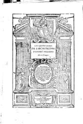 Les quatre livres de l'architecture