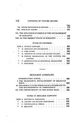 Philosophical Miscellanies: Translated from the French of Cousin, Jouffroy, and B. Constant. With Introductory and Critical Notices. By George Ripley ...