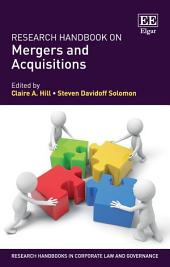 Research Handbook on Mergers and Acquisitions