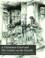 A Christmas carol, and The cricket on the hearth
