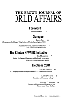 The Brown Journal of World Affairs PDF