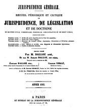 Jurisprudence générale