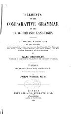 A Comparative Grammar of the Indo-Germanic Languages