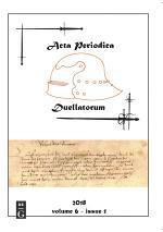 Acta Periodica Duellatorum (vol. 6, issue 1)