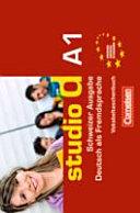 Studio d A1 Deutsch als Fremdsprache PDF
