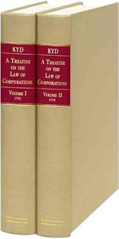A Treatise on the Law of Corporations
