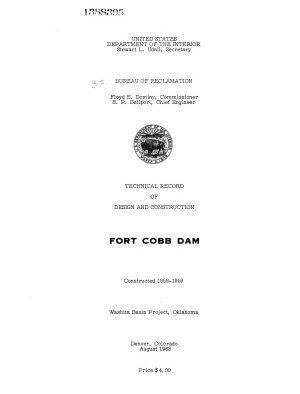 Fort Cobb Dam