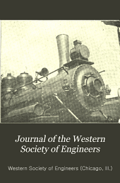 Journal of the Western Society of Engineers: Volume 14