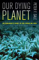 Our Dying Planet PDF