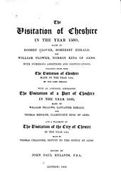 The Visitation of Cheshire in the Year 1580: Volume 18