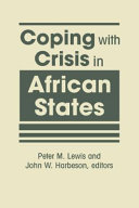 Coping with Crisis in African States PDF