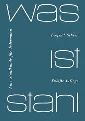 Was ist Stahl: Eine Stahlkunde für jedermann, Ausgabe 12
