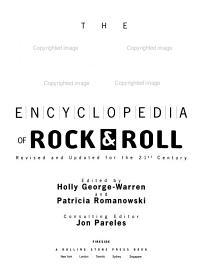 Rolling Stone Encyclopedia Of Rock   Roll