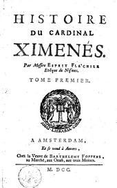 Histoirs Du Cardinal Ximenès