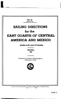 Sailing Directions for the East Coasts of Central America and Mexico PDF