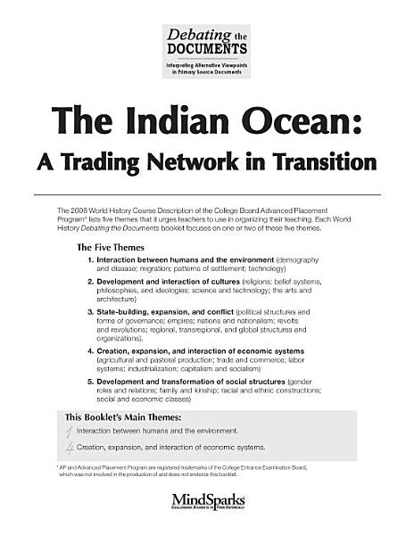 The Indian Ocean A Trading Network In Transition