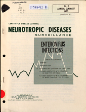 Neurotropic Viral Diseases Surveillance: enterovirus infections, Issue 3