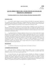 Lignes directrices pour les essais de produits chimiques / Section 4: Effets sur la santé Essai n° 430: Corrosion cutanée in vitro : Essai de résistance électrique transcutanée (RET)