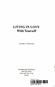 Living in Love with Yourself PDF