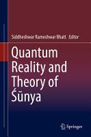Quantum Reality and Theory of     nya PDF